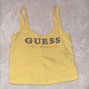 GUESS* Crop Top Tank!!